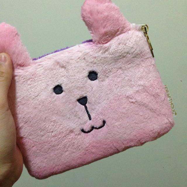 CRAFTHOLIC 兔子 化妝包 筆袋