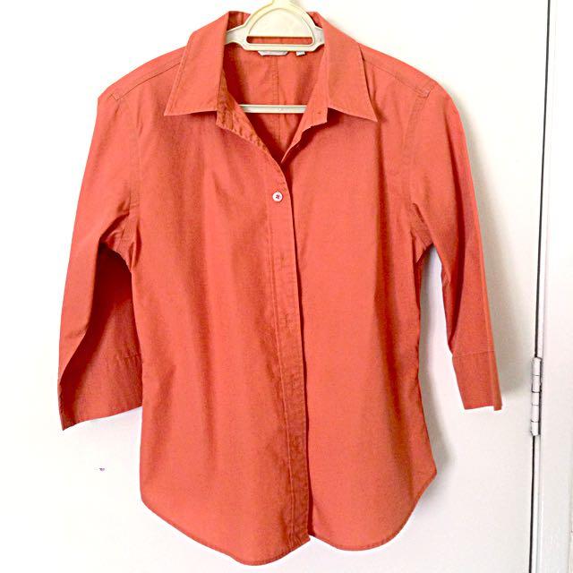 G2000 Burnt Orange Classic Work Shirt