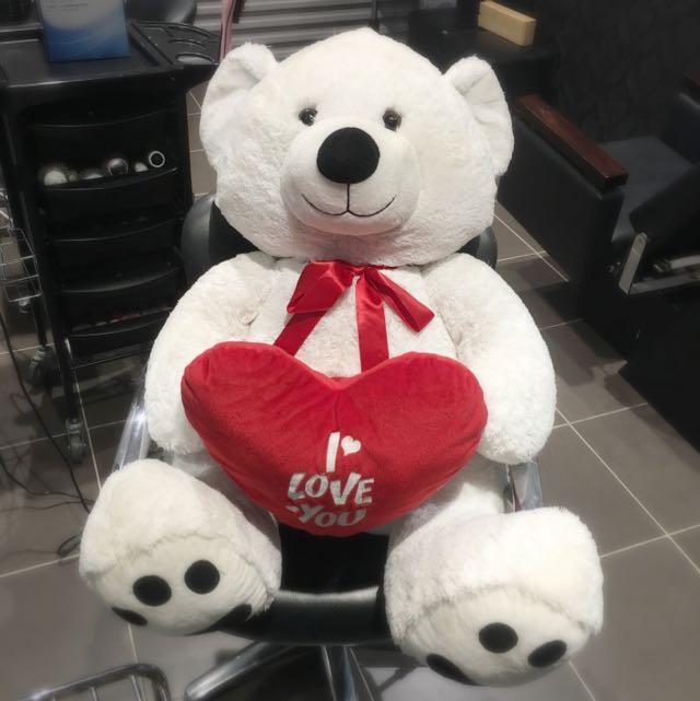 Giant ' I Love You ' Teddy Bear