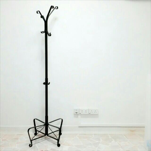 (RESERVED) IKEA Portis Hat and coat stand Clothes Rack, Furniture on Carousell