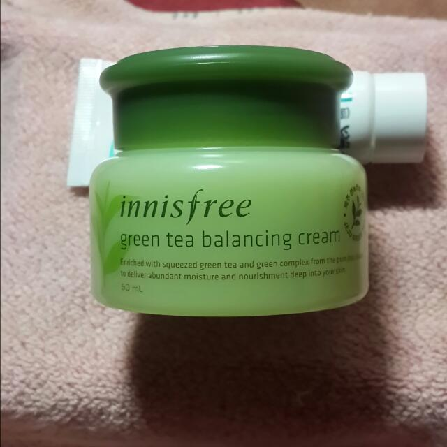 innisfree 綠茶平衡乳霜 50ml