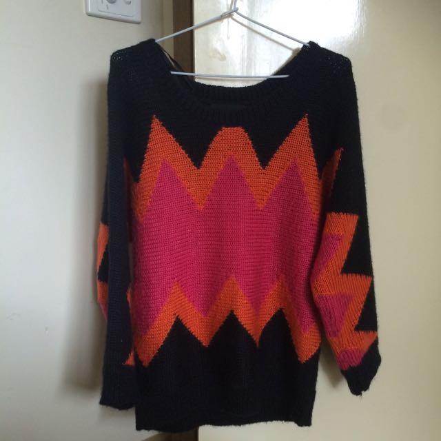 MINK PINK zigzag Jumper/sweater