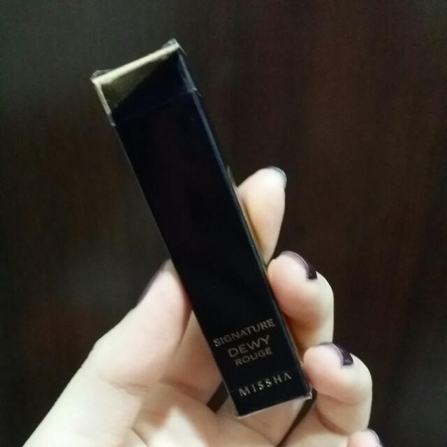 (保留至4/4)MISSHA經典持色水感胭脂唇膏BR01