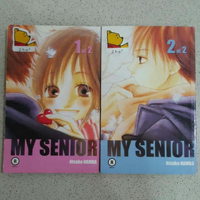 My Senior By Atsuko Namba Complete Series