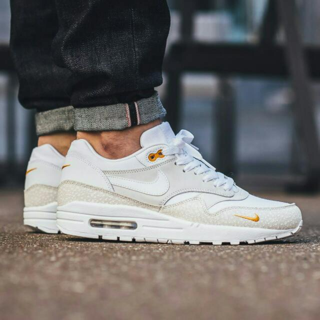 free shipping 02d2b cdc71 nike air max 1 prm safari whitekumquat 1458926675 29dd72f6.jpg