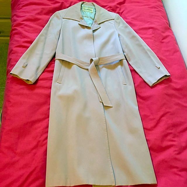 Pale Pink Winter Coat