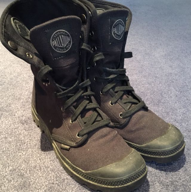 Palladium Original Black Boots