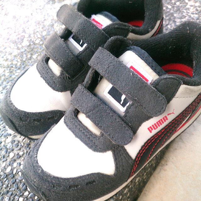 [近全新]15.5cm Puma童鞋/跑步鞋