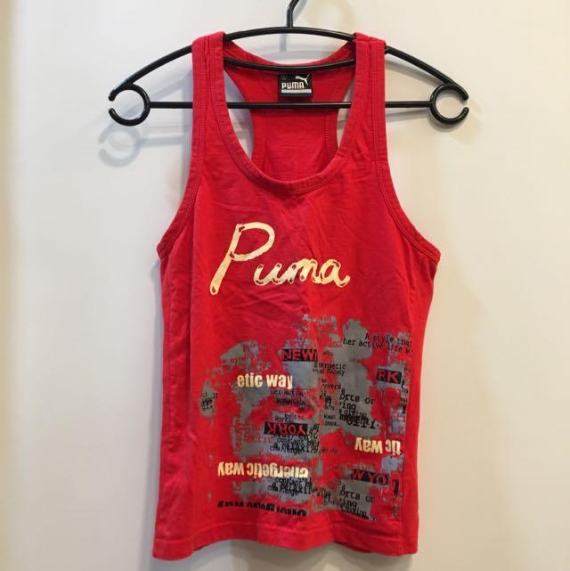Red PUMA 無袖背心