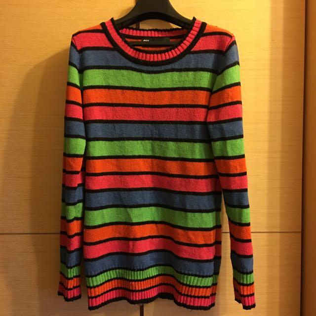 日本SLY彩色毛衣