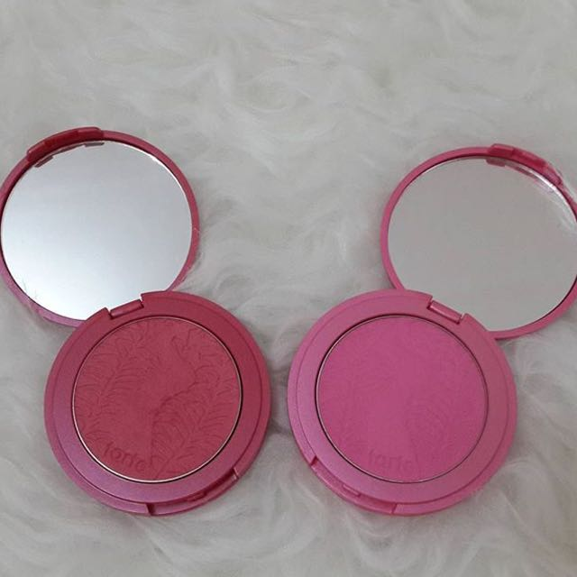 Tarte Amazonian Clay 12h Blush In Natural Beauty And Amused