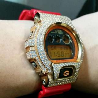Limited Edition G SHOCK embedded With Crystals