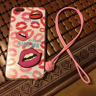 I Phone 6s Plus紅唇💋殼