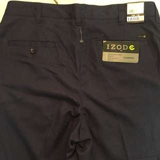 IZOD Men's Golf Pants Brand New With Tags Size 30 X 32