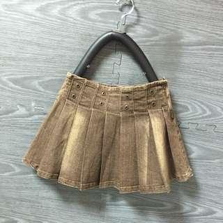 百折牛仔裙