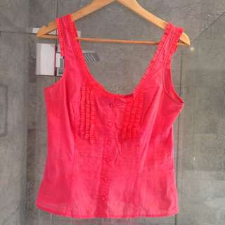 Joan Top - Pink, Size 10