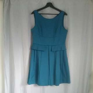 Cue Turquoise Dress Size 14