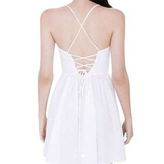 Tie back dress (criss cross)