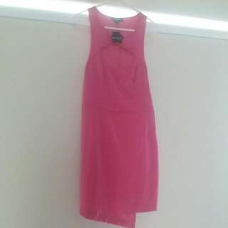 Brand New Bluejuice Hot Pink Dress BNWT