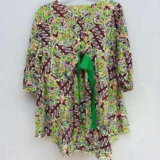 Batik Green Browny