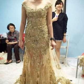 Gold/Nude Dress