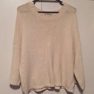 Thick(er) Country Road Knit (M)