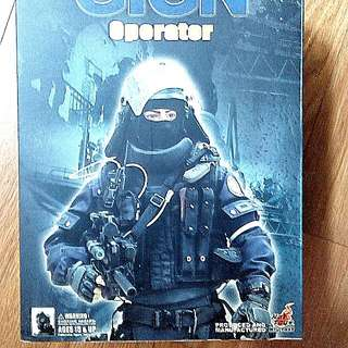 QUICK SALE.  - 1/6 Hot Toys Action Figure. Original And Rare. Out of production. GIGN Operator.