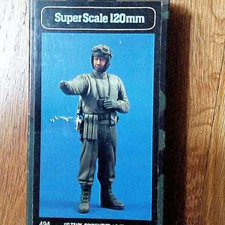 QUICK SALE -, $25 -  1/15 Scale Original And Rare. 120mm US Tank Commander WWII.Velinden Resin Figure Model Kit. (Revised)