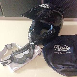Arai T3 CROSS FF Motorcycle Helmet
