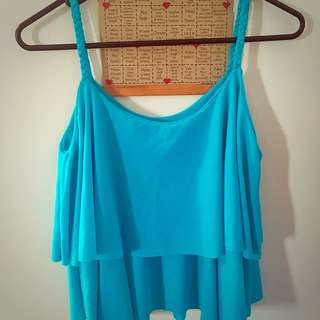 Layer Sleeveless Top size S to M, worn few times only