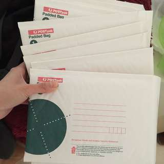 Auspost Postpak Padded envelopes X 54