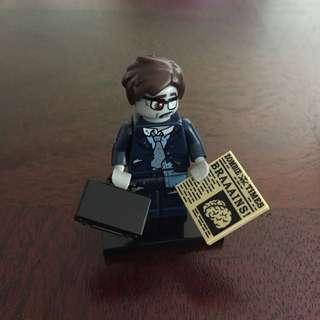 Lego Series 14 Zombie Businessman