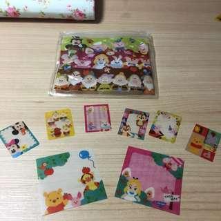 迪士尼愛麗絲、三隻小豬、七矮人膠片