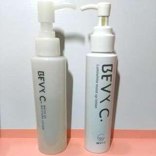 (含運價)BEVy C. 光透幻白妝前保濕化妝水+極粹美白化妝水