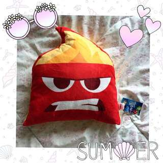 Inside Out Angry Pillow