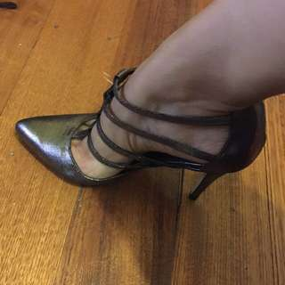 Worn Once Strappy Killer Heels Size 8