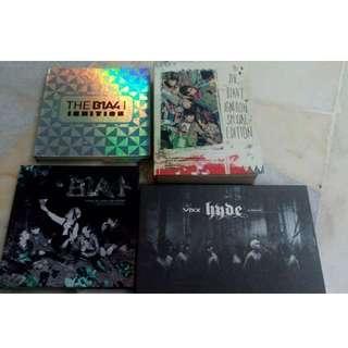 PRELOVED B1A4 VIXX ALBUM