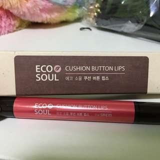 韓國美妝(Eco Soul)Cushion Button Lips