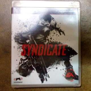 Ps3 Game Syndicate