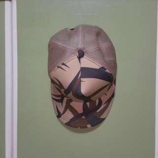 Bape 荊棘 迷彩 土色 帽