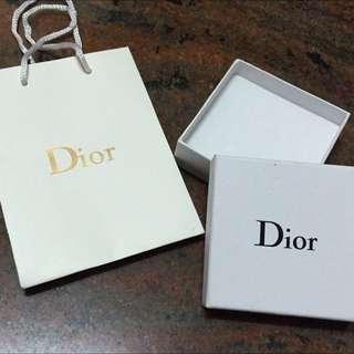 Dior 紙盒+紙袋