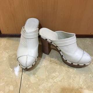 厚底高跟鞋