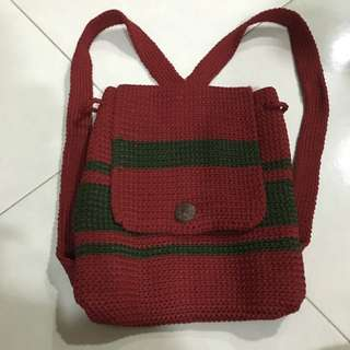 Knitted Haversack