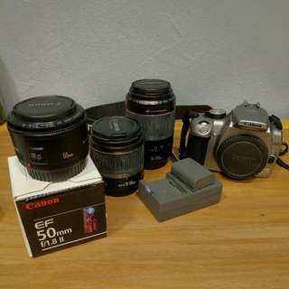 Canon 350D (Kiss N, Bought From Japan)