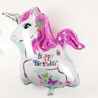 生日快樂氣球 🦄️獨角獸