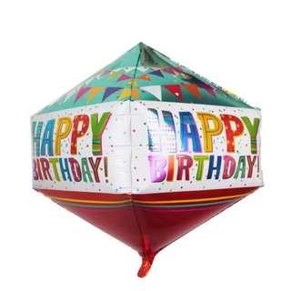 新款❤️生日快樂氣球 立體🎈