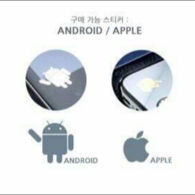 韓國製手機電磁波防輻射貼-24K金箔