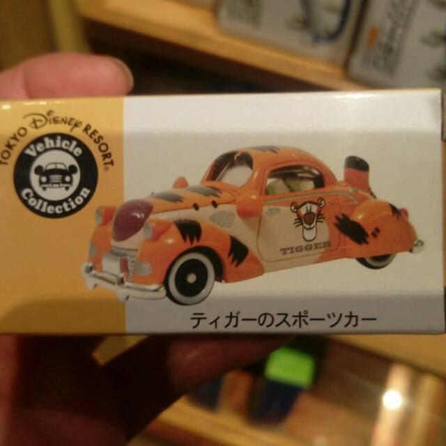 TOMY TOMICA日本東京迪士樂園車跳跳虎車