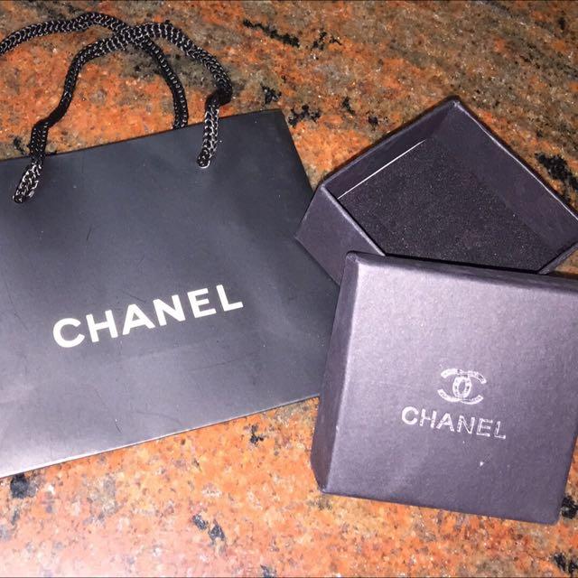 香奈兒紙盒+紙袋