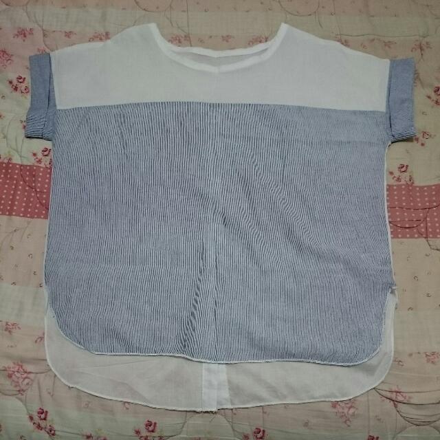 日系風格棉麻上衣